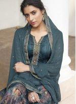Rama Digital Print Festival Designer Pakistani Suit