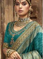 Rama Engagement Traditional Designer Saree