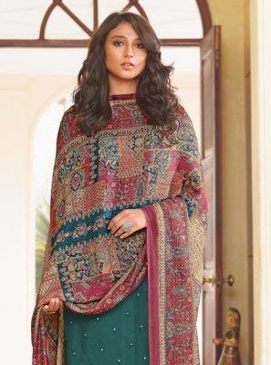 Rama Festival Designer Straight Suit