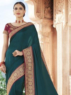 Rama Festival Traditional Designer Saree