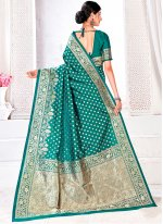 Rama Traditional Designer Saree