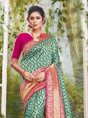 Rama Weaving Traditional Designer Saree