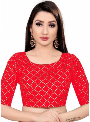 Rani Art Silk Printed Blouse