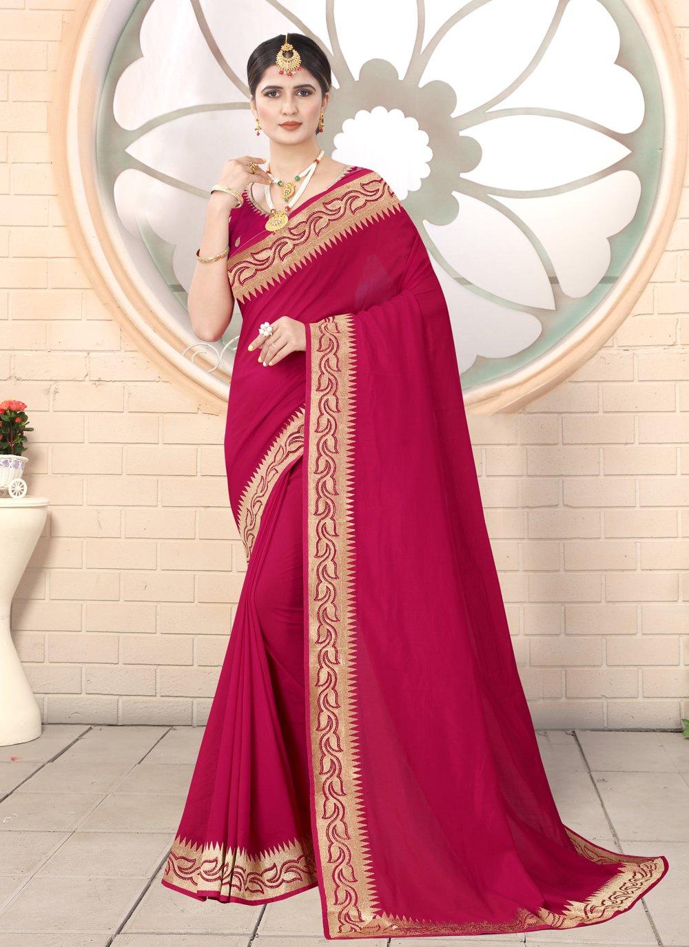 Rani Ceremonial Classic Designer Saree