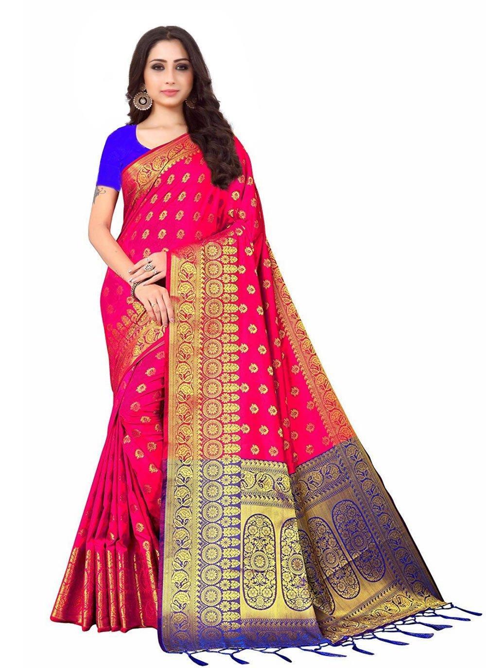 Rani Color Designer Saree