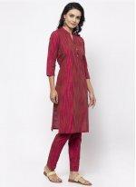 Rani Fancy Cotton Silk Designer Kurti