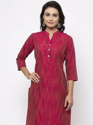Rani Fancy Cotton Silk Designer Kurti