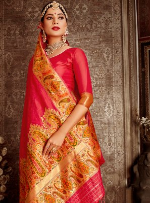 Rani Festival Traditional Designer Saree