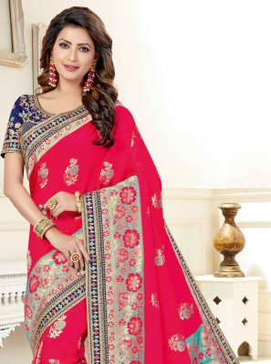 Rani Festival Traditional Saree