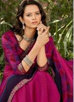 Rani Printed Printed Saree