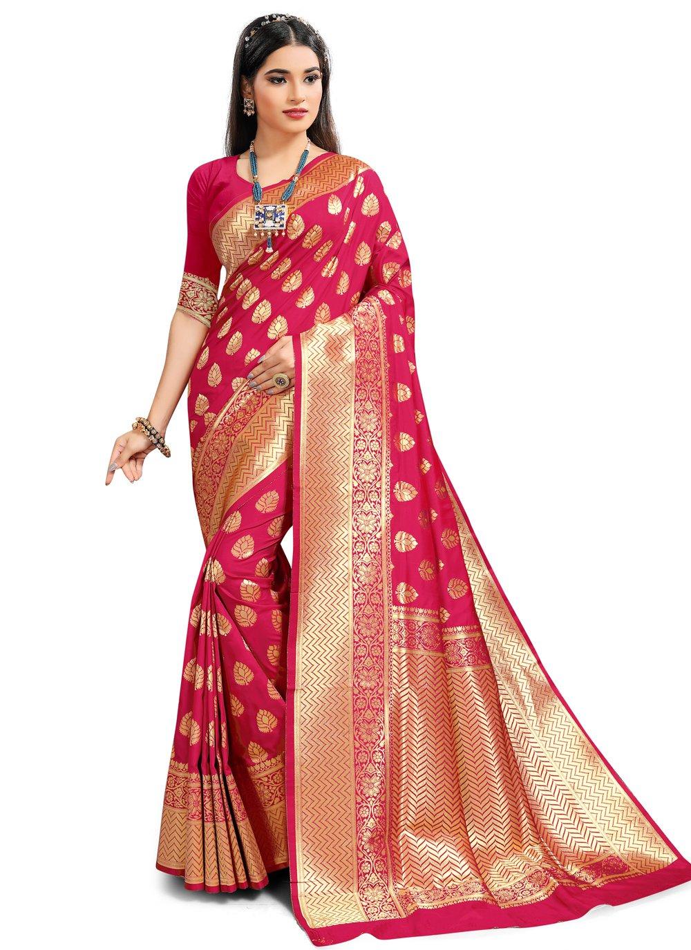 Rani Silk Traditional Saree