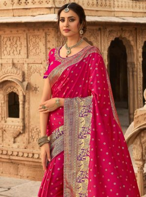Rani Traditional Designer Saree