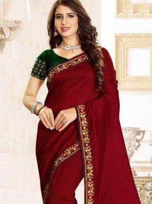 Raw Silk Classic Designer Saree