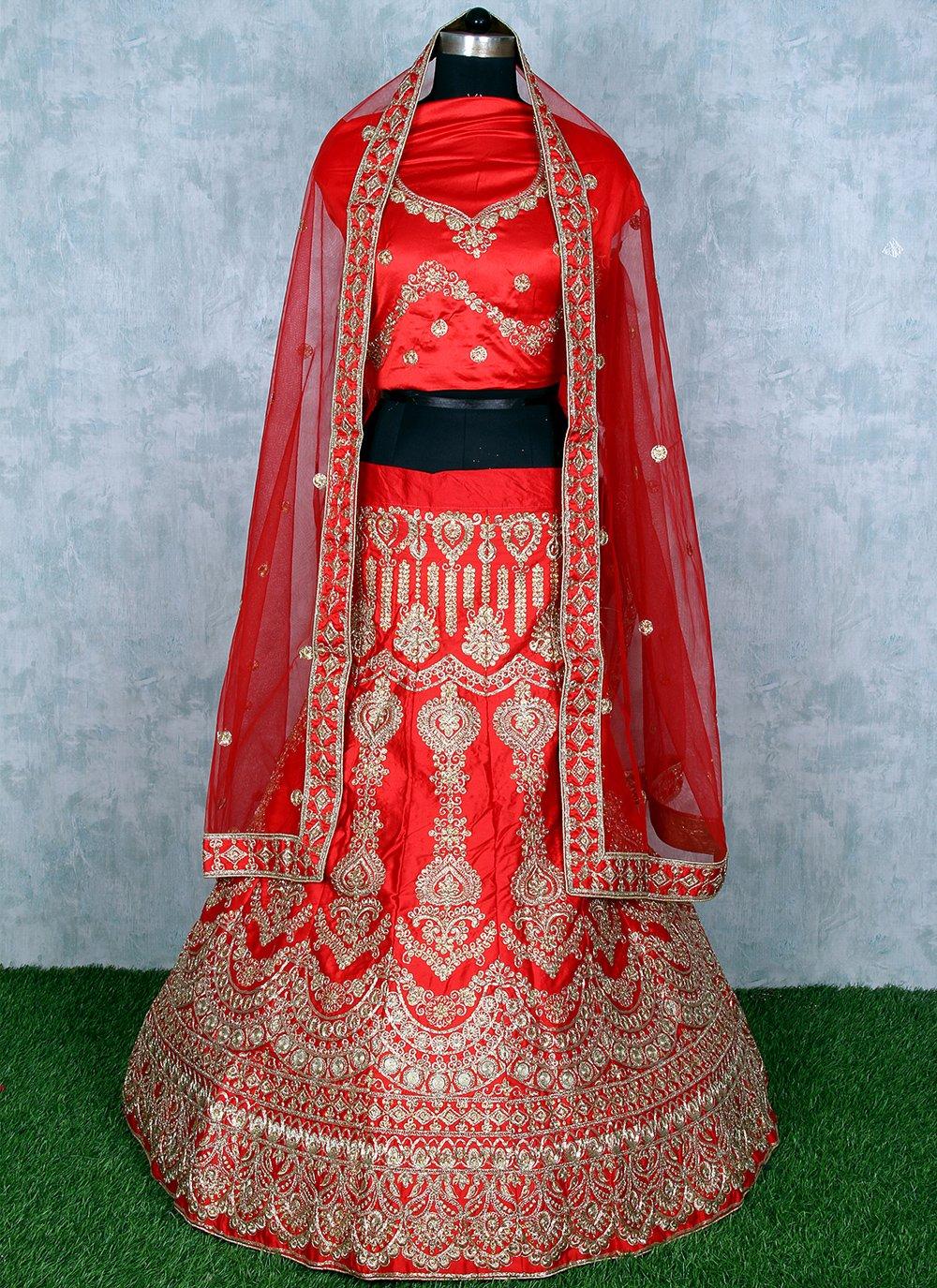 Red Lehenga Choli