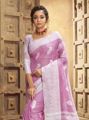 Resham Cotton Classic Designer Saree