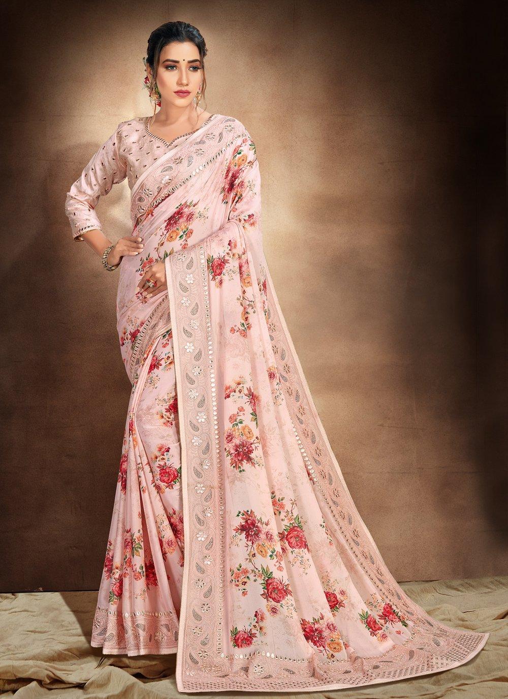 Resham Printed Saree