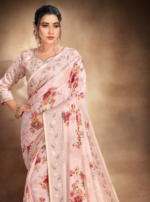 Resham Printed Saree