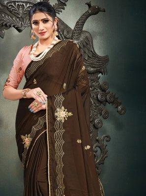 Resham Sangeet Designer Saree