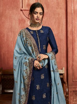 Resham Sangeet Pant Style Suit