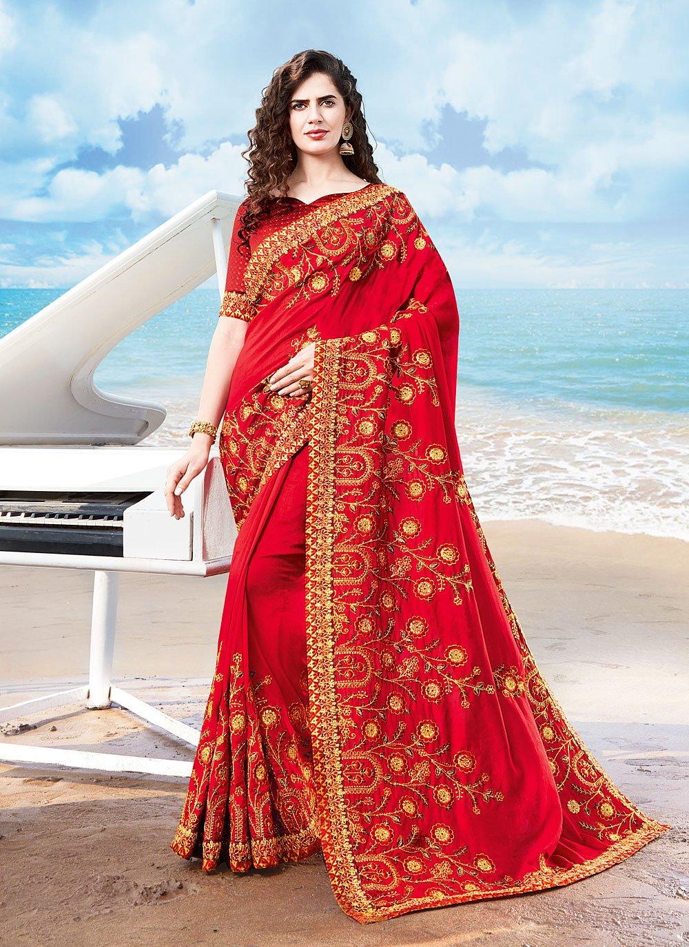 Resham Silk Traditional Designer Saree