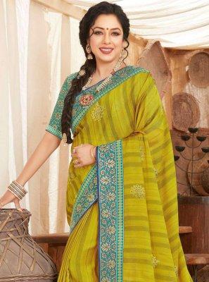 Rupali Ganguly Fancy Fabric Classic Designer Saree