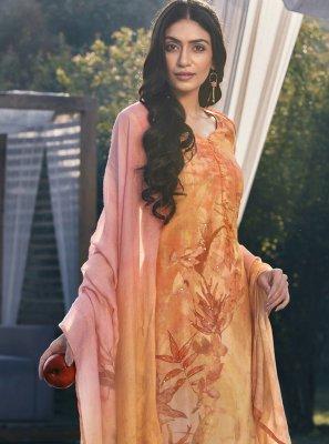 Satin Designer Pakistani Suit