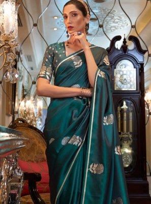 Satin Designer Traditional Saree