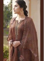 Satin Festival Designer Pakistani Suit