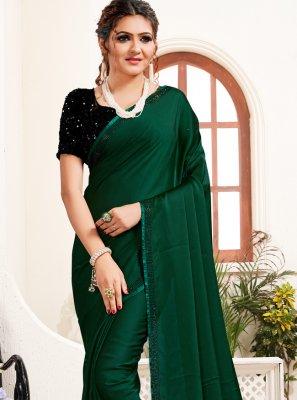 Satin Festival Designer Saree
