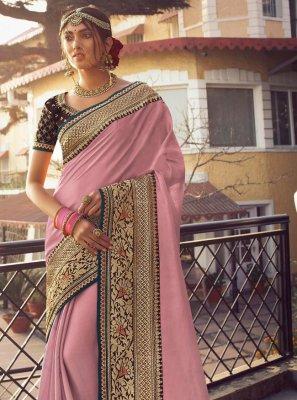 Satin Silk Fancy Traditional Saree