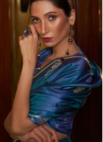 Satin Weaving Classic Designer Saree