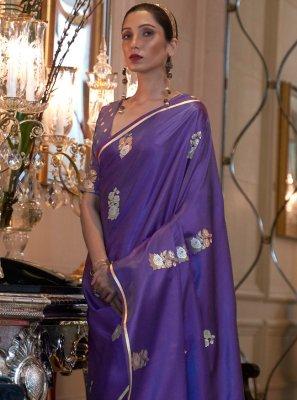 Satin Weaving Classic Saree