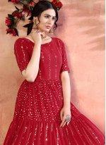 Sequins Festival Designer Gown