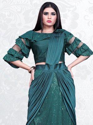 Sequins Festival Designer Saree