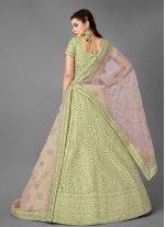Sequins Reception Bollywood Lehenga Choli