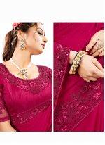 Sequins Satin Silk Traditional Designer Saree