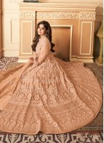 Shamita Shetty Designer Floor Length Salwar Suit