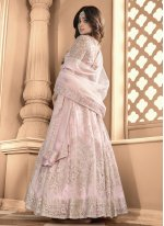 Shamita Shetty Net Floor Length Anarkali Suit