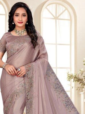 Shimmer Sangeet Designer Saree