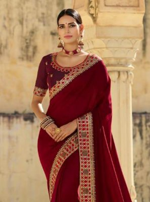Silk Ceremonial Traditional Designer Saree
