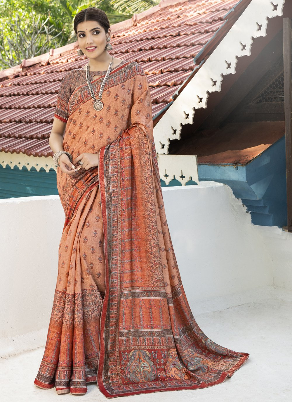Silk Ceremonial Traditional Designer Saree