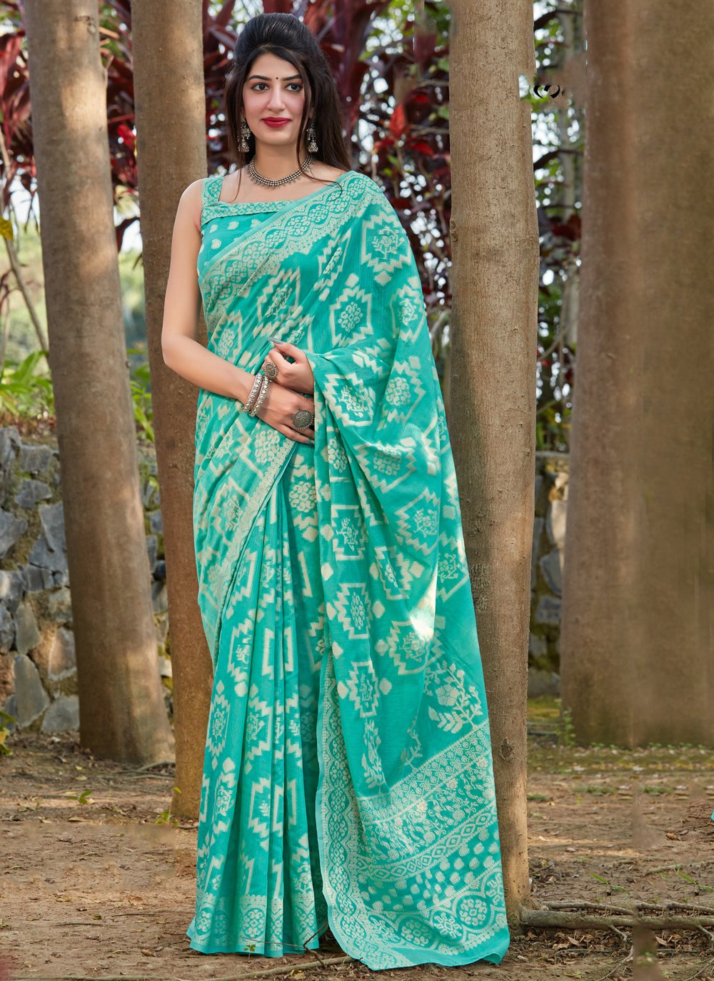 Silk Ceremonial Traditional Saree