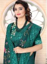 Silk Embroidered Bollywood Saree