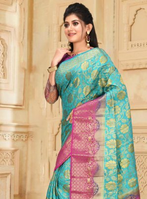 Silk Engagement Traditional Designer Saree