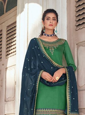 Silk Festival Designer Patiala Suit