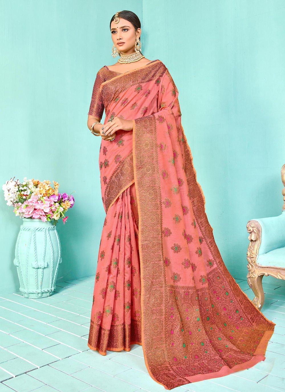 Silk Festival Designer Traditional Saree