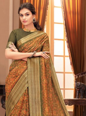 Silk Festival Designer Traditional Saree