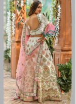 Silk Lace A Line Lehenga Choli