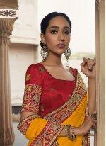 Silk Lace Traditional Saree