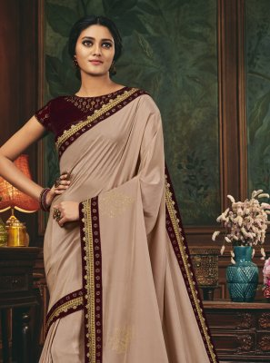 Silk Patch Border Designer Traditional Saree